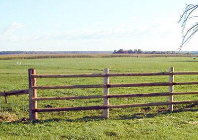 Farm fencing styles