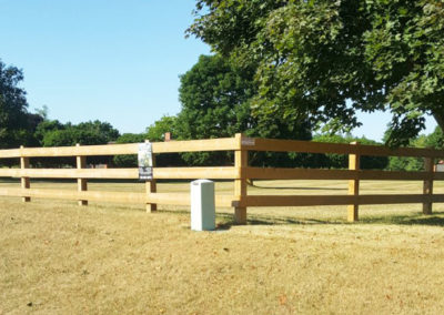 Tradition paddock fence