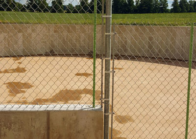 Chainlink security fencing