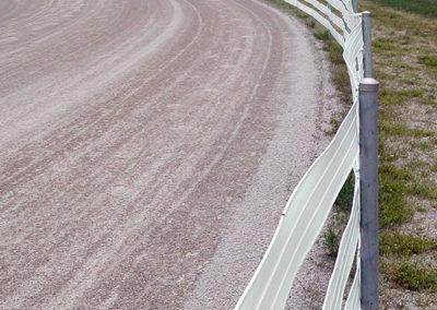 Racetrack fencing